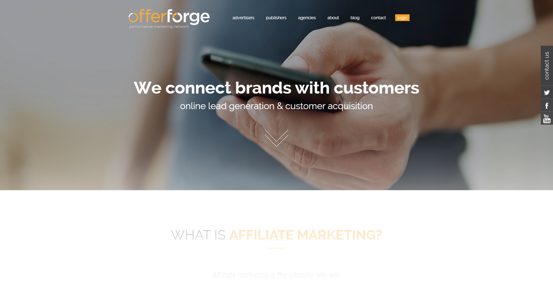 OfferForge-Performance-Marketing-Affiliate-Network.-Connecting-Brands-with-Customecsdsdsrs-through-Lead-Generation---Customer-Acquisition